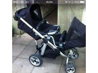 I candy apple to pear double buggy