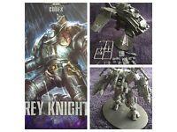 Warhammer 40k grey Knights army (over £400 worth of army)