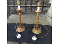 """Brand new """"Roman table lamps"""""""