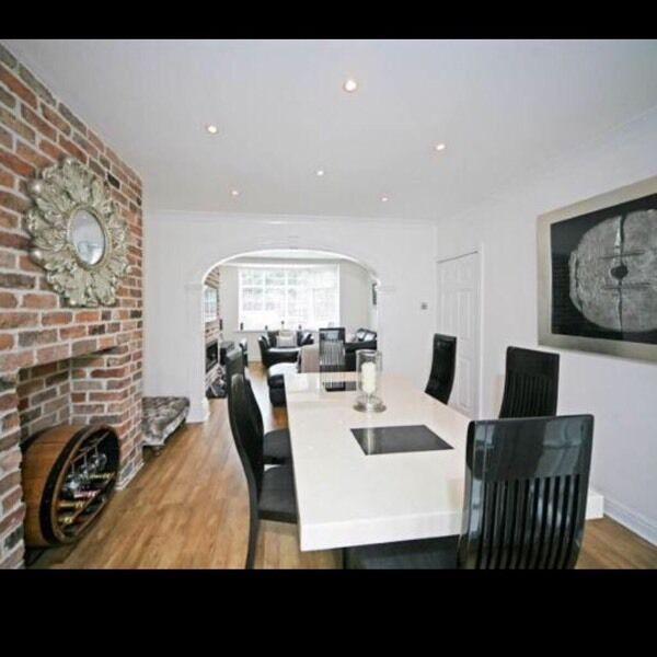 Marble dining table and 6 chairs - Housing units | in Worsley ...