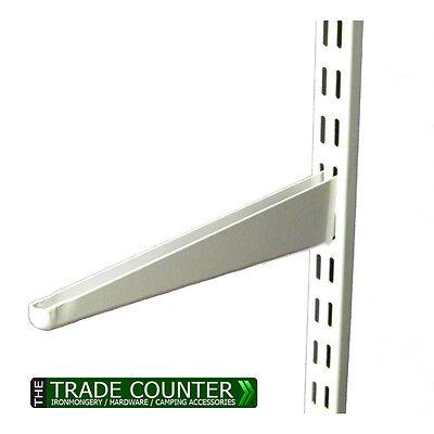 Verstellbare Regale Klammern (Einzelbett Schlitz Regal Weiß Klammern Pfosten Metall Verstellbar Regale)