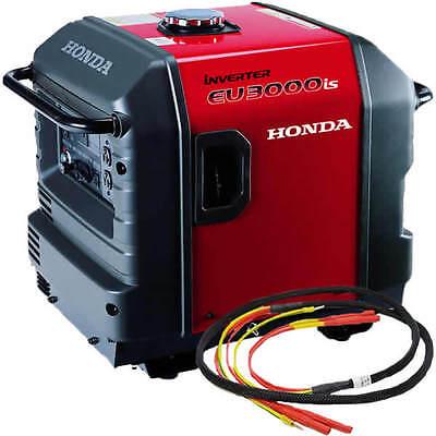 Honda Eu3000 Inverter Generator With Parallel Cables Kit Single Generator
