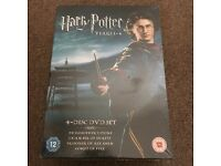 New Harry Potter 4 Disc DVD Set - Price been Reduced