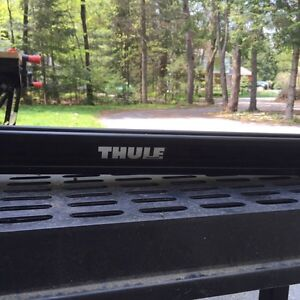 Thule universal upright bike rack