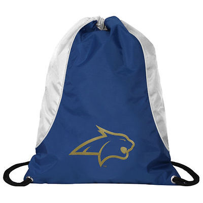 NCAA Montana State Axis Backpack Cinch String Bag Tote Drawstring Pouch (Montana State Bobcats Backpack)