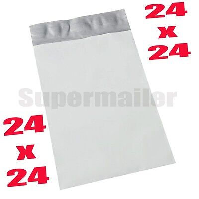 5 24x24 Poly Mailers Self Sealing Bags Shipping Postal Envelopes Bag 24 X 24