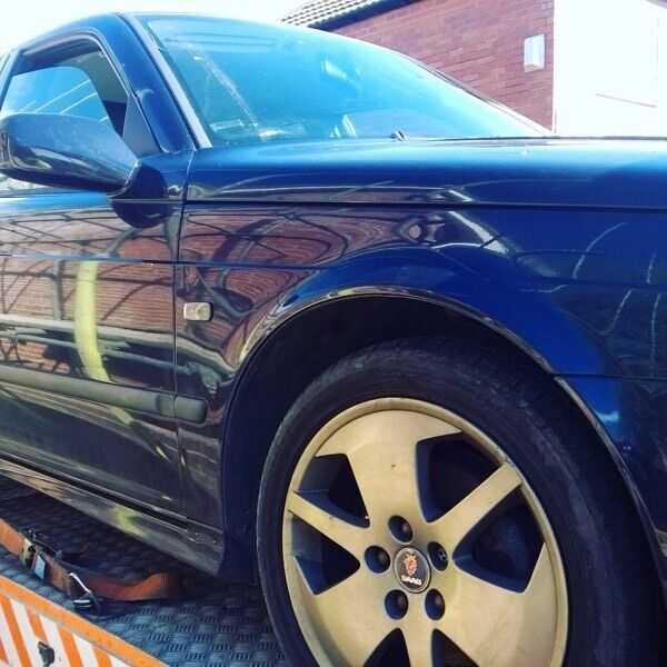 """Breaking For Parts Saab 9 5 2.0 Turboin Heaton Moor, ManchesterGumtree - Breaking For PartsSaab 9 5 2.0 Turbo PetrolHalf Black Leather Trim17"""" Gun Metal Grey Alloys All parts for saleCan post or deliver"""