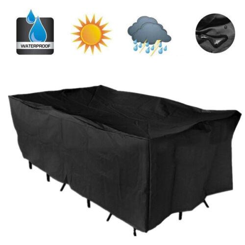 Waterproof Chair Bench BBQ Rack Table Furniture Outdoor Gard