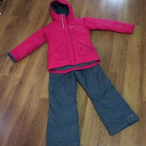 Girls size 7/8 Columbia snowsuit
