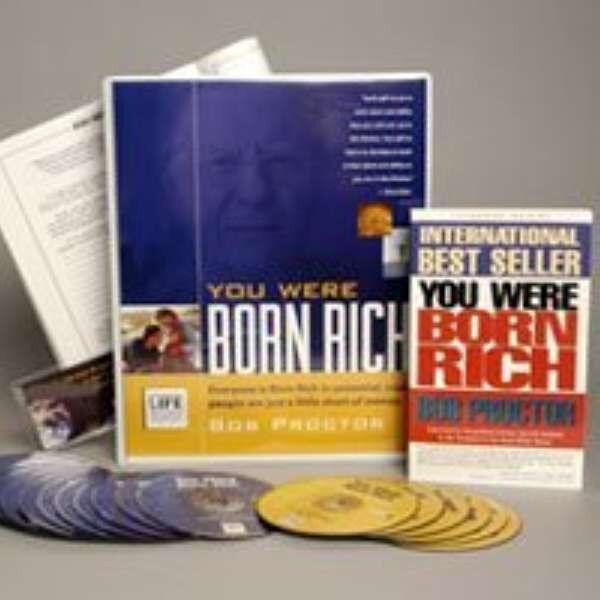 Bob Proctor You Were Born Rich 6 DVD+15 CD (MSRP $595) SAVE $300 - VERY RARE