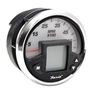FARIA-MG2000-IG1102A-MERCURY-SMARTCRAFT-MULTI-FUNCTION-BOAT-TACHOMETER-GAUGE
