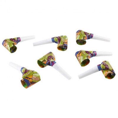 Baby Ninja Turtles Party Luftrüssel Tröten Kindergeburtstag Mitgebsel Geschenke