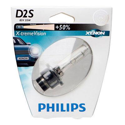 150/% more View Philips D4S Xtreme Vision Xenon Headlamp 42402XV2C1 single