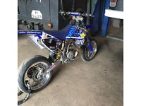 Gas gas ec 300 supermoto with enduro setup