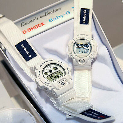 CASIO G-SHOCK & Baby-G G Presents Lover's Collection Set Watch LOV-16C-7, used for sale  Shipping to Canada