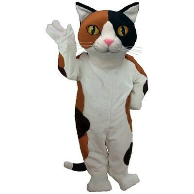 Calico Cat Professional Quality Mascot Costume Adult Size