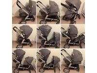 Mother-care Genie Parent or Rear facing Pushchair - Double | Single | Excellent Condition Bargain
