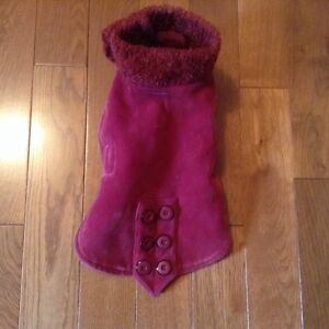 Dog or cat coat, jacket, outfit, reversible  London Ontario image 1