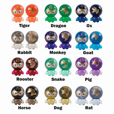 WHOLESALE LOT OF 50 BOK CHOY BOY FIGURES SERIES 4 CHINESE ZODIAC  - Toy Wholesale