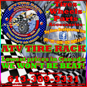 ATV TIRES & RIMS BEST PRICES -- ATV TIRE RACK