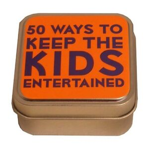 Lagoon Games 50 Ways To Keep The Kids Entertained 7929 Table Top Game