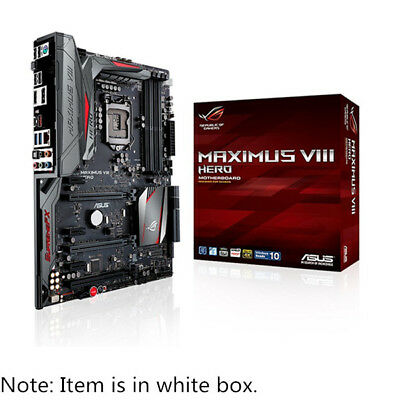 ASUS ROG MAXIMUS VIII HERO LGA1151 DDR4 SATA 6Gb/s USB 3.1 Z170 ATX Motherboard