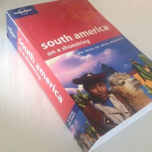 Lonely Planet South America guide book
