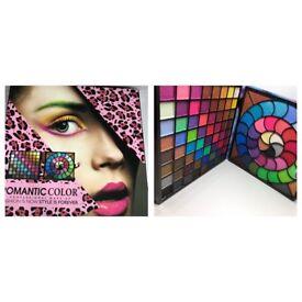 Romantic color eyeshadow palette