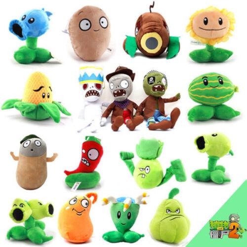 Купить Plants vs Zombies 2 PVZ Figures Plush Baby Staff Toy Stuffed Soft Doll 13cm-35cm