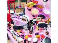 Jazzy Scrumptious Parties Mobile Crepe Catering - Waffles - Crepes - Crepe bar - Popcorn - Creperie
