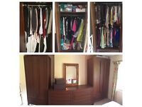 Solid oak 'Sonoma' Marks and Spencer wardrobe (1 of 3 available)