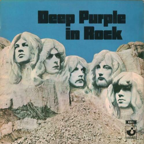 LP gebruikt - Deep Purple - Deep Purple In Rock