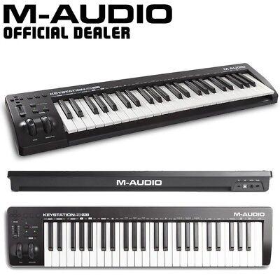 M-Audio Keystation 49 MK3 Studio Live USB-MIDI Keyboard Controller with Software