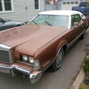 1974 Lincoln Mark 4, Mark iv, original miles,