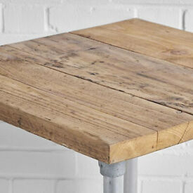 Square Scaffold Poseur Table