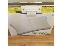 Used Wii fit plus board & gane