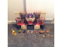 Imaginext Knights castle
