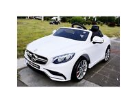 Mercedes S63 AMG White Or Black Available Ride-On