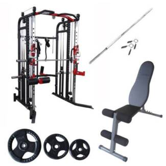 New F30 PRO Package Deal, Strength Pack, Home Gym Setup