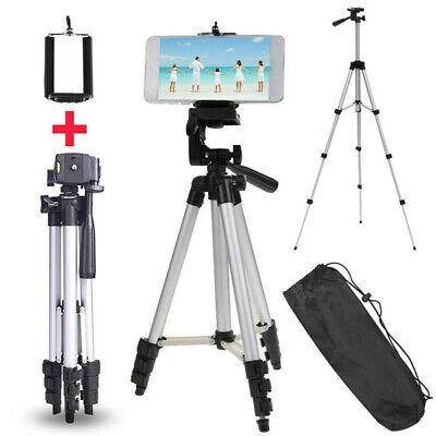 TREPPIEDE Supporto Cavalletto Per Fotocamera Videocamera Smartphone In Alluminio