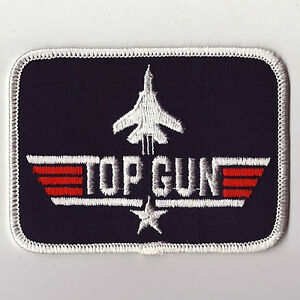 TOP GUN MOVIE PATCH, STICKERS, PROMOTIONAL BOOKLET, TICKET