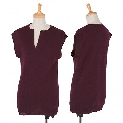 Y�fs bis LIMI Wool Vest Size S(K-37296)