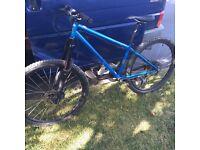 Reduced - orange men's mountain bike