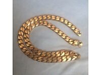 Men's 9ct gold chain