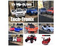 Massive Range Of Kids-Ride-On Car, 24v Buggy In Stock, Parental Remote & Self Drive,Ride-on