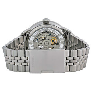 Unused FOSSIL Mens Townsman Automatic Watch ME3044 Silver colour London Ontario image 9