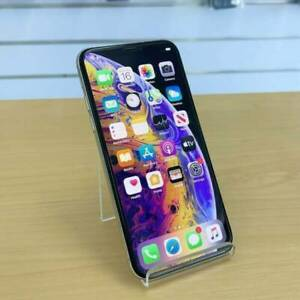 iPhone XS 64G Silver AU MODEL INVOICE WARRANTY GOOD CONDITION Ashmore Gold Coast City Preview