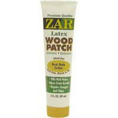 Zar Wood Patch - NEW ZAR 31041 3OZ TUBE RED OAK COLOR LATEX WOOD PUTTY PATCH FILLER 1874585