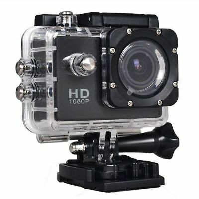 1080p HD Sports go Action Camera pro Waterproof  helmet camera w/ bike mount