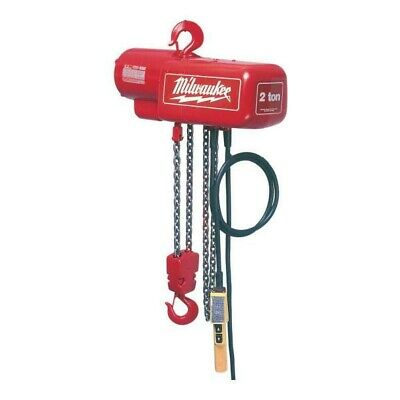 Milwaukee 9561 12 Ton 15 Ft. Electric Chain Hoist